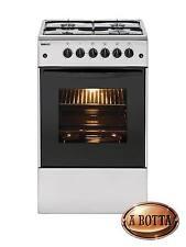 Cucina a Gas con 4 Fuochi BEKO CSS42014FS Silver Forno Elettrico - Fornello