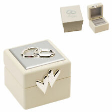 Quality Wedding Ring Bearer Box Present Gift Idea Chest Pillow or Cushion WG264