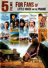 NIP DVD 5 Films Fans Little House on the Prairie River/Otter/Rugged Gold/Pioneer