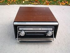 PANASONIC CX-888SU 8 TRACK PLAYER / CAR AUTO HOME WITH CASE / TECH SERVICED