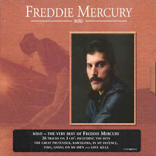 Solo Collection by Freddie Mercury (Queen) - 2CD Box Set + RARE THIRD BONUS DISC