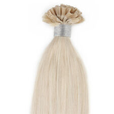 "24"" Pre Bonded Nail U Tip AAAA Real Human Hair Extensions 1g Strand 50g/pack #60"