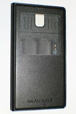 Samsung Genuine OEM Galaxy Note 3 S-View Note III Black Leather Flip Cover