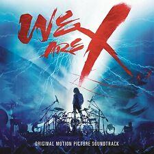 X JAPAN - WE ARE X: ORIGINAL SOUNDTRACK CD NEU