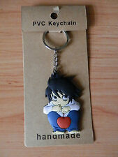 DEATH NOTE L  KEY CHAIN SOFT PLASTIC 6 CM LLAVERO NEW