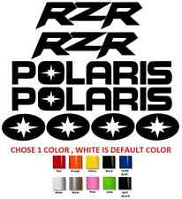 (#318) POLARIS RZR STICKERS DECALS **ANY COLOR** SNOWMOBILE QUAD