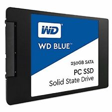 WESTERN DIGITAL WD BLUE 540MB/s Read 500MB/s Write 250GB SOLID STATE DRIVE st
