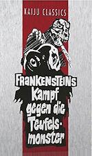 Godzilla FRANKENSTEINS KAMPF GEGEN DIE TEUFELSMONSTER Steelbook LIMITED DVD Box