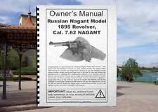 Russian NAGANT Model 1895 Cal 7.62 Revolver Gun Owners  MANUAL Century