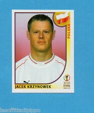 KOREA/JAPAN 2002-PANINI-Figurina n.268- KRZYNOWEK - POLONIA -NEW BLACK BACK