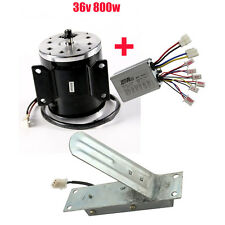 36V 800W Electric Brush Motor + Speed Controller + Foot Pedal Throttle Go Kart