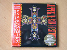 "GUNS N`ROSES ""Appetite For Destruction"" Japan mini LP SHM CD +bonus sleeve"