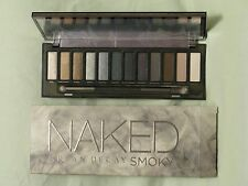 Urban Decay 'Naked Smoky' Eye Shadow Palette NIB 12 Shades & Applicator Brush