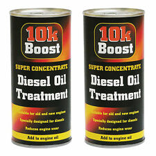 2 x 10K Boost Super Concentrate Diesel Engine Oil Treatment Additive 300ml