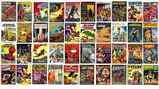 * VINTAGE RARE FRENCH PULP MAGAZINES COLLECTION * 67 ISSUES on 2 DVD * FRANCE