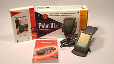 Palm IIIx Dock, box, and manuals. Very Nice! Fast Free Shipping!