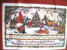 Christmas Holiday Dimensions GOLD Collection JOYOUS ADVENT CALENDAR KIT,8532,NIP