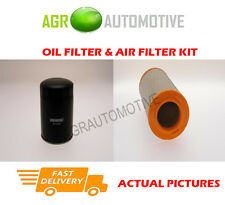 DIESEL SERVICE KIT OIL AIR FILTER FOR IVECO DAILY 35C13 2.8 125 BHP 1999-06