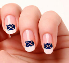 20 Nail Art Decals Transfers Stickers #231 - Scottish Flag