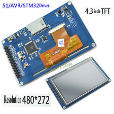 "4.3 inch 4.3"" TFT LCD Display Module SSD1963 480x272 With Touch Panel SD Card"