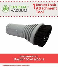 1 Dyson DC07 DC14 DC17 Dusting Swivel Head Vacuum Brush # 900188-16