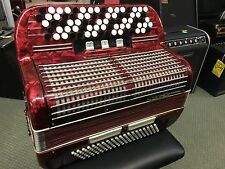 Royal Standard Button Accordion 120 Bass German Red B System