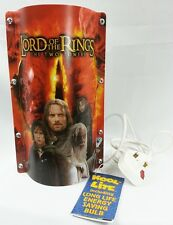 "Rare The Lord of the Rings ""The Two Towers"" Kool Lite Table Lamp"