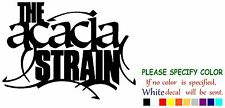 The Acacia Strain rock music Funny Vinyl Decal Sticker Car Window laptop 12""