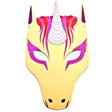 Pretty Unicorn Foam Face Mask - Legend Story FairyTale Fancy Dress for Children