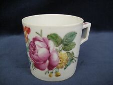 Antique Continental Porcelain Hand Painted Cup, Marked