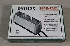 Philips LFD 3442/01 Slide Synchroniser in Original Box Made in Germany