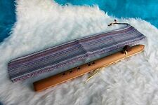 50.5 cm Native American Style 5 Hole Flute in Key of F# with FREE Flute Bag