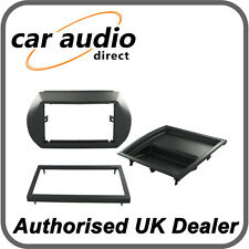 Connects2 CT24FT27 Grey Double Din Fascia Adaptor Panel for Fiat Fiorino Qubo