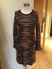 Aldo Martins Dress Size 18 BNWT Black Beige Coral RRP £196 Now £78