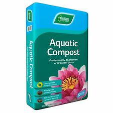 Westland Aquatic Compost 20L Fish Pond Soil for Water Plants Garden Bog Planting