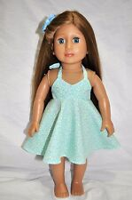 """American Girl Dolls  Our Generation Dolls Gotz 18"""" Doll Clothes High Low Halter"""