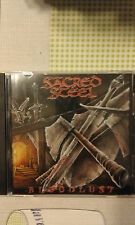 SACRED STEEL - BLOODLUST - PROMO  CD