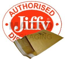 "50 Jiffy Bags Padded Envelopes JL0 CD 5.5"" X 7.5""(Gold)"