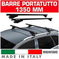 BARRE TETTO AUTO TIGER BLACK XL MENABO' portapacchi AUDI A3 SPORTBACK ANNO08 12