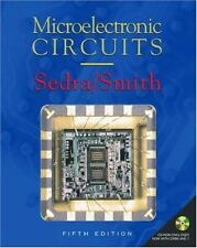 Microelectronic Circuits by Adel S. Sedra and K. C. Smith (2003, Hardcover,...