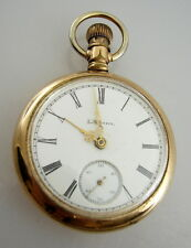 Illinois AM Greer Iowa City IA Antique Vintage Pocket Watch Model 4 Circa 1892