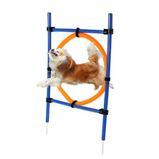 Pet Jump Training Hoop Agility Dog Thru Equipment Show Obedience Tunnel Outdoor