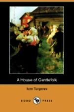 A House of Gentlefolk, Turgenev, Ivan Sergeevich, New Books