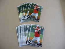 2016 Bowman Prospects NICK TRAVIESO LOT 7 CHROME 13 PAPER REDS #149