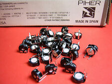 50x 100R CARBON POTENTIOMETERS PIHER PT10LV