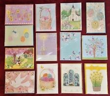 LOT of 13 PAPYRUS EASTER Greeting Cards ~ Cute, Sweet, Unique, Sealed, Adorable