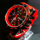 New Mens Watch Luxury Stainless Steel Sport Analog Quartz Modern Wrist Watch GT