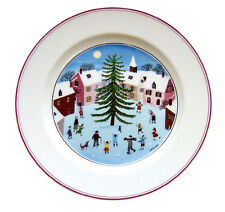 Villeroy & and Boch NAIF CHRISTMAS LAPLAU - NEW salad / dessert plate 21cm