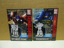 Fascinations Metal Earth 3D  Model - Transformers G1Optimus Prime  & Soundwave