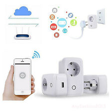 Presa di corrente WiFi Wireless Remote Control Smart Power per Smartphone